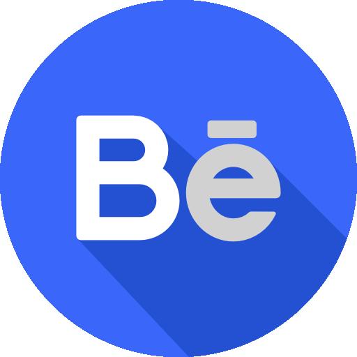 behance تحميل ايقونات مواقع التواصل الاجتماعي بدون خلفيه