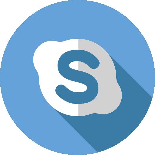 skype تحميل ايقونات مواقع التواصل الاجتماعي بدون خلفيه