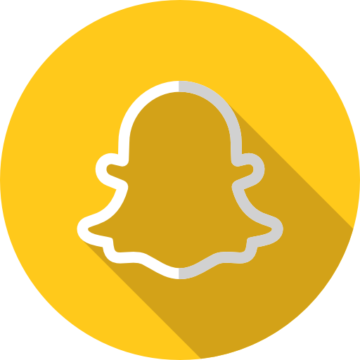 snapchat تحميل ايقونات مواقع التواصل الاجتماعي بدون خلفيه