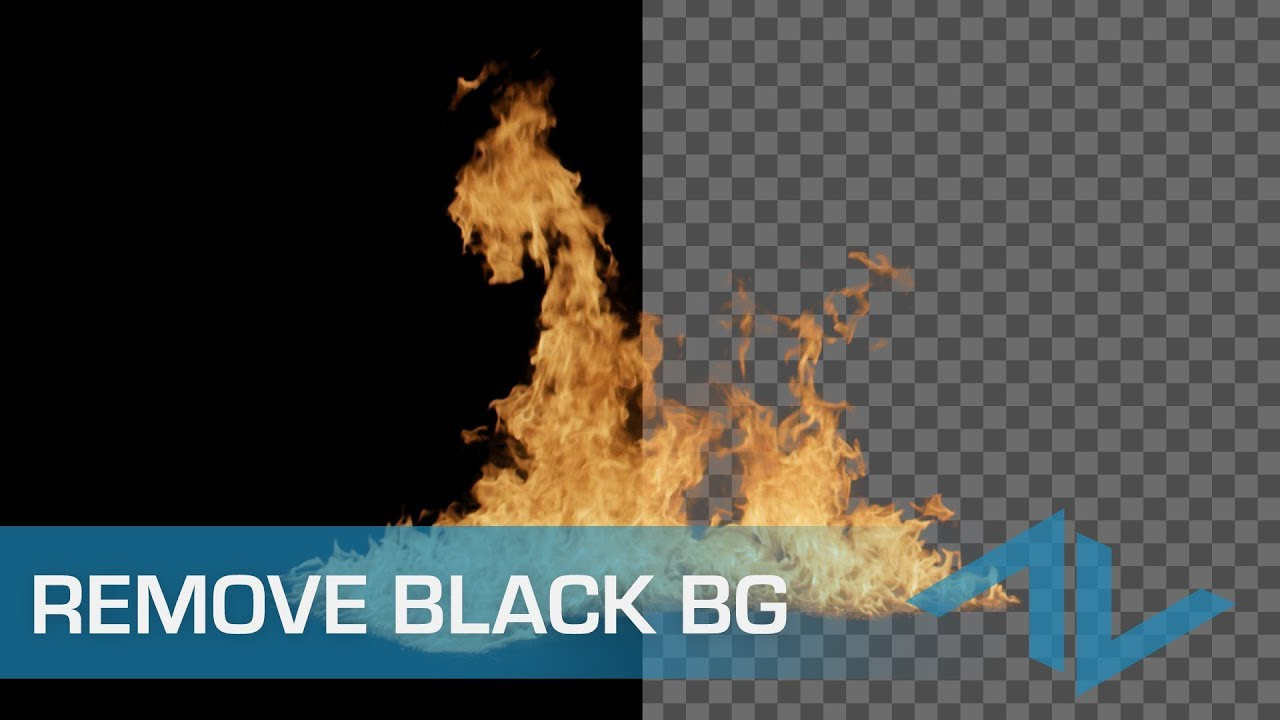 How to render without a background in After Effects تصدير فيديو بدون خلفيه في افترافيكت