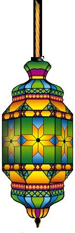 فانوس رمضان 3 فوانيس رمضان مفرغه png بدون خلفيه للتصميم