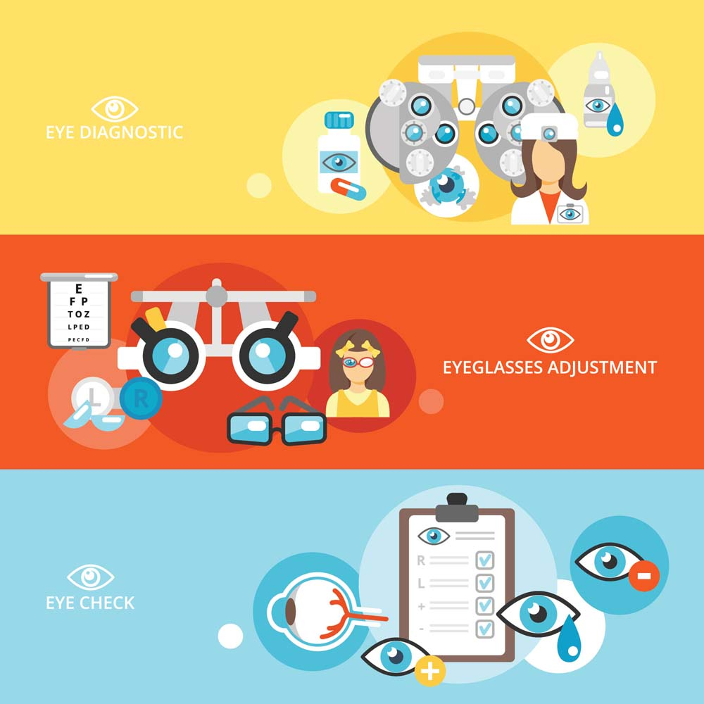 flat medical banners 4 كفرات فيس بوك و تويتر للاطباء