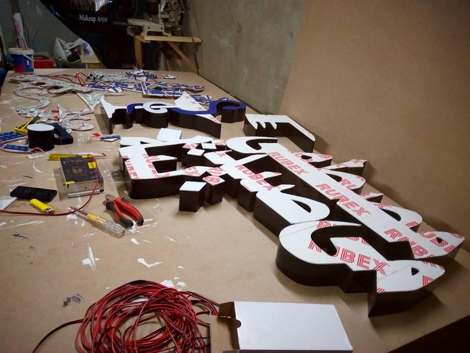 تصنيع الحروف يفط الاكريليك 10 طريقه تصنيع حروف يفط الاكريليك