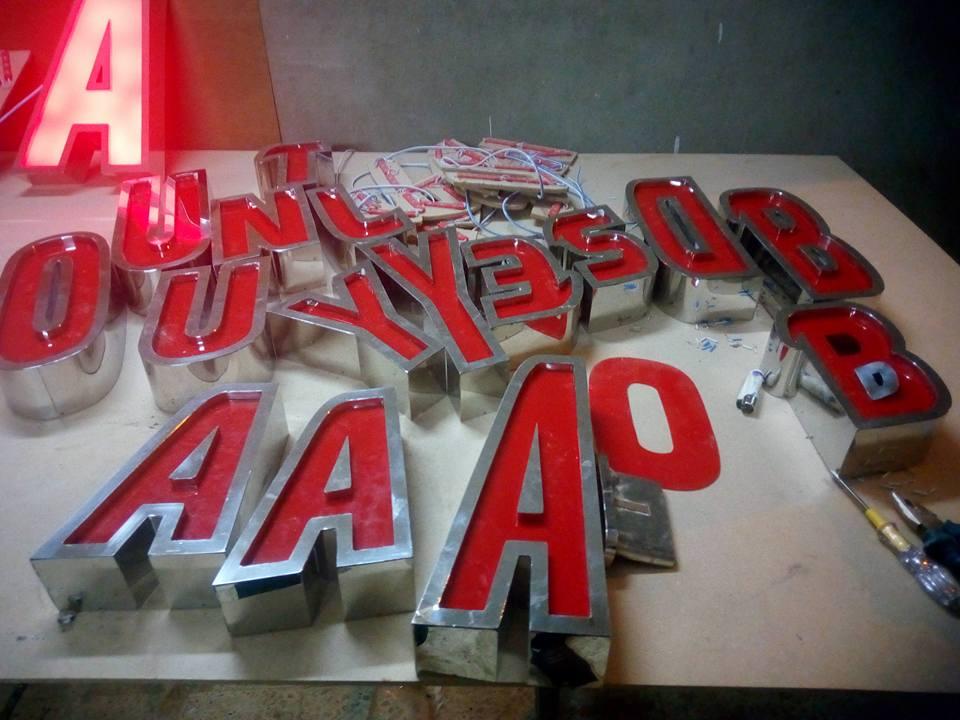 تصنيع الحروف يفط الاكريليك 18 طريقه تصنيع حروف يفط الاكريليك