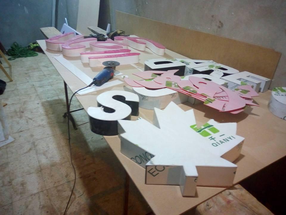 تصنيع الحروف يفط الاكريليك 20 طريقه تصنيع حروف يفط الاكريليك