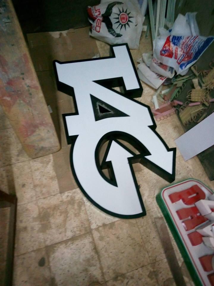 تصنيع الحروف يفط الاكريليك 26 طريقه تصنيع حروف يفط الاكريليك