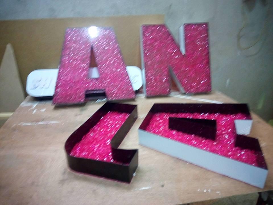 تصنيع الحروف يفط الاكريليك 32 طريقه تصنيع حروف يفط الاكريليك