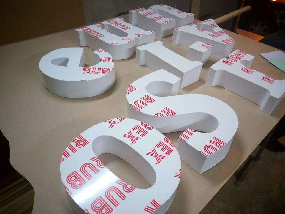 تصنيع الحروف يفط الاكريليك 6 طريقه تصنيع حروف يفط الاكريليك