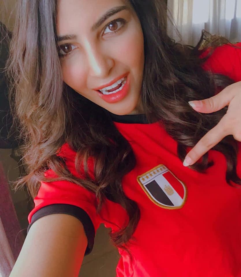 مشجعات مصر في كاس العالم 1 مشجعات مصر في كاس العالم