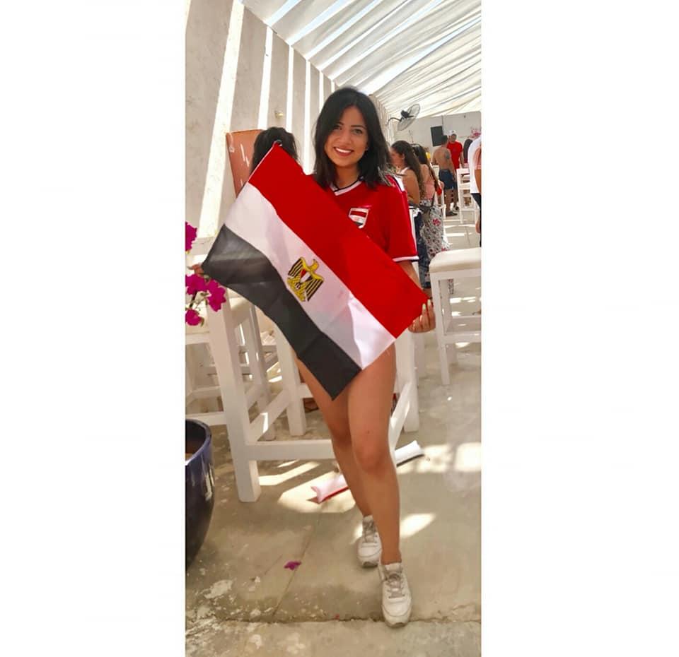 مشجعات مصر في كاس العالم 4 مشجعات مصر في كاس العالم