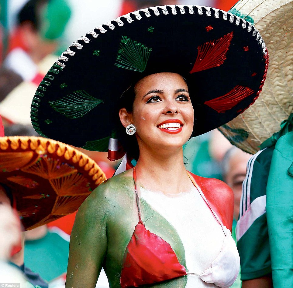 10. Mexico 10 دول مع جماهير كرة القدم الأكثر جاذبية في كأس العالم