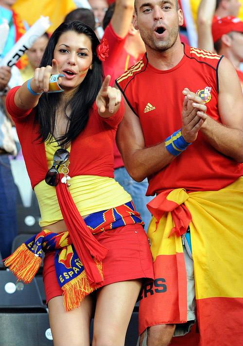 3. Spain 10 دول مع جماهير كرة القدم الأكثر جاذبية في كأس العالم