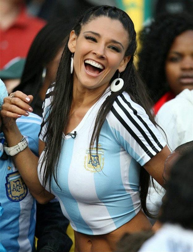 4. Argentina 1 10 دول مع جماهير كرة القدم الأكثر جاذبية في كأس العالم