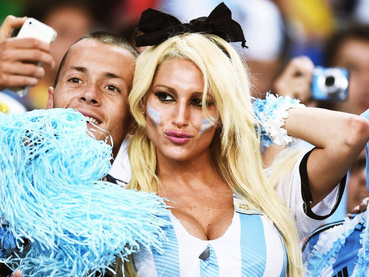 4. Argentina 2 10 دول مع جماهير كرة القدم الأكثر جاذبية في كأس العالم