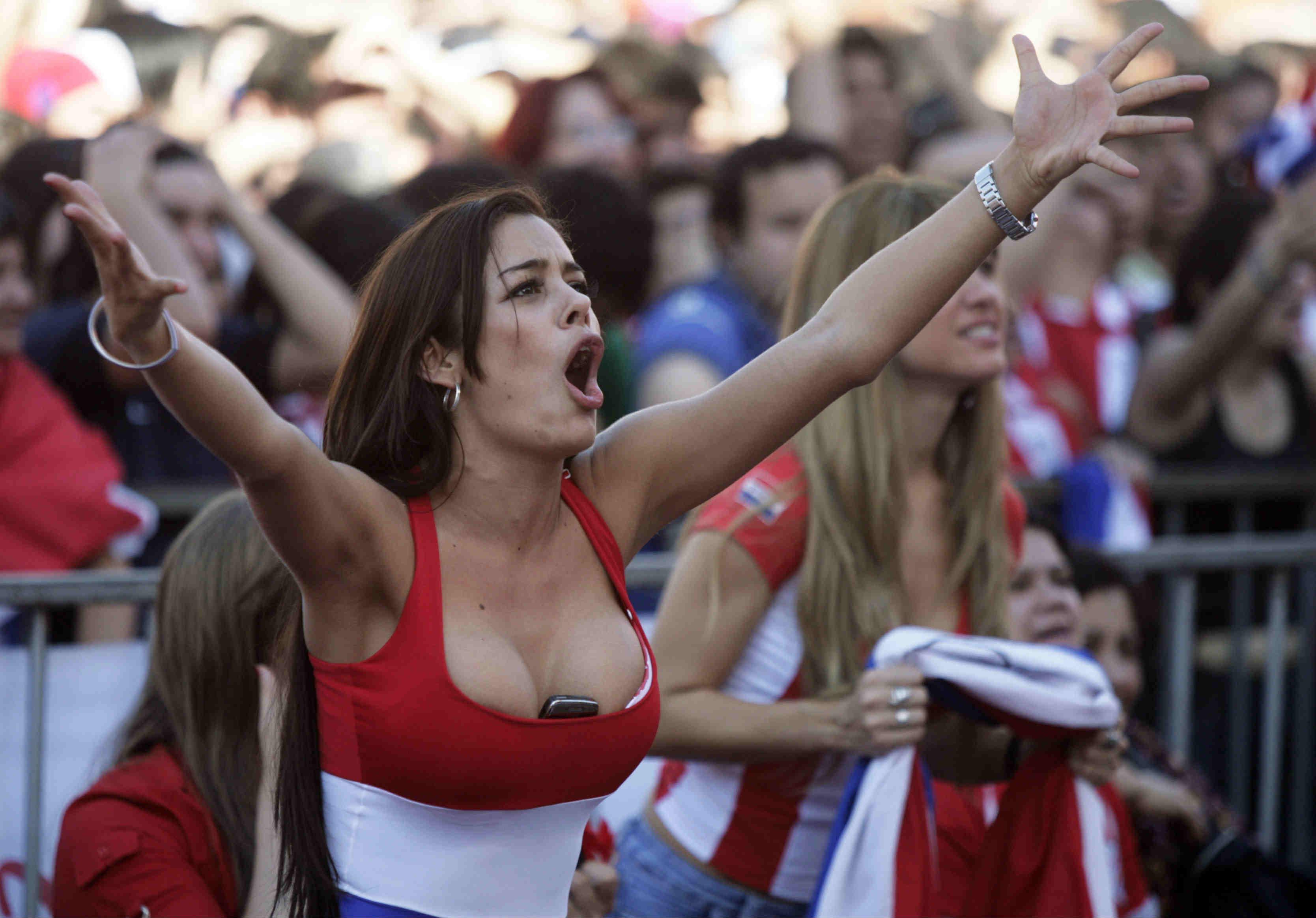5. Paraguay 10 دول مع جماهير كرة القدم الأكثر جاذبية في كأس العالم