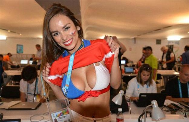 9. Chile 10 دول مع جماهير كرة القدم الأكثر جاذبية في كأس العالم