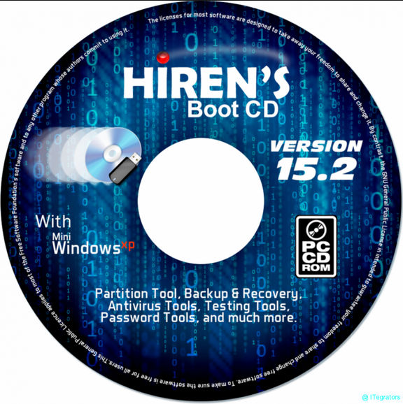 Hiren's BootCD 15 1 تحميل اسطوانة الصيانه Hiren's BootCD 15
