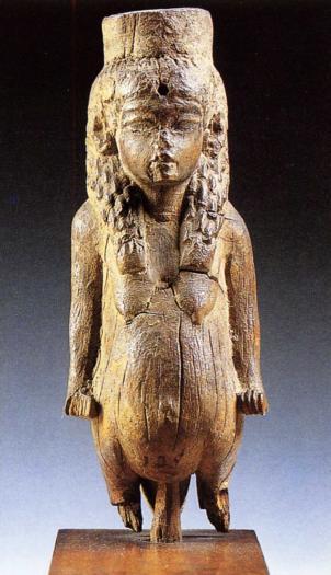 La déesse Thouéris en bois XVIIIè Dynastie Egypte Egypte Antique La déesse Thouéris, en bois,  XVIIIè Dynastie Egypte, Egypte Antique
