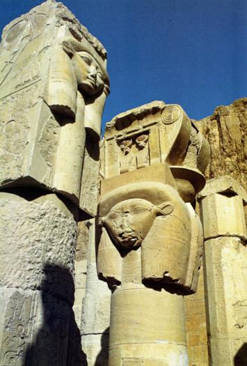 La déesse de la joie Deir el Bahari XVIIIè Dynastie Egypte Egypte Antique La déesse de la joie, Deir el Bahari, XVIIIè Dynastie Egypte, Egypte Antique