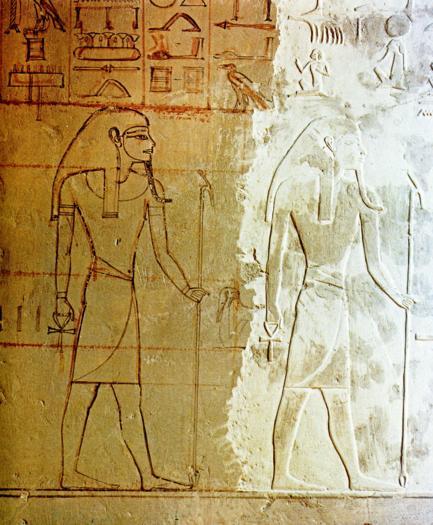 La tombe dHorremheb inachevée Egypte Egypte Antique La tombe dHorremheb inachevée Egypte, Egypte Antique