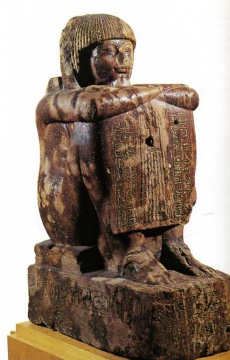 Le grand prêtre de Ptah quartzite brun Memphis XVIIIè Dynastie Egypte Egypte Antique Le grand prêtre de Ptah, quartzite brun, Memphis ,  XVIIIè Dynastie Egypte, Egypte Antique
