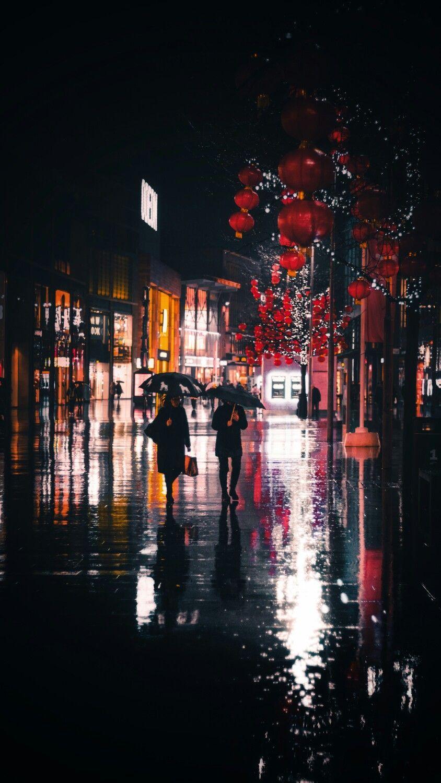 خلفيات جوال شتاء ومطر 4 خلفيات جوال عن فصل الشتاء والمطر