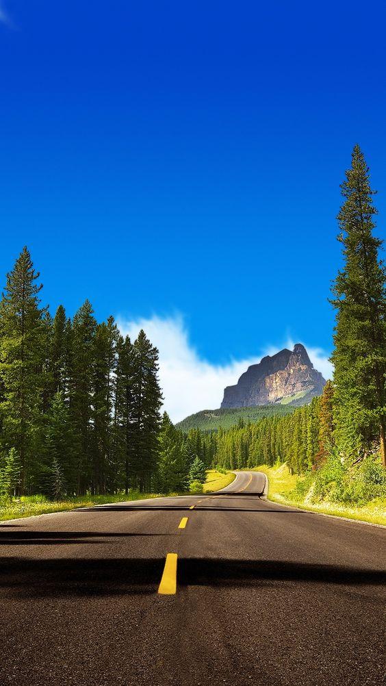 خلفيات جوال طبيعه وطريق 1 خلفيات جوال   طبيعه و طريق سفر