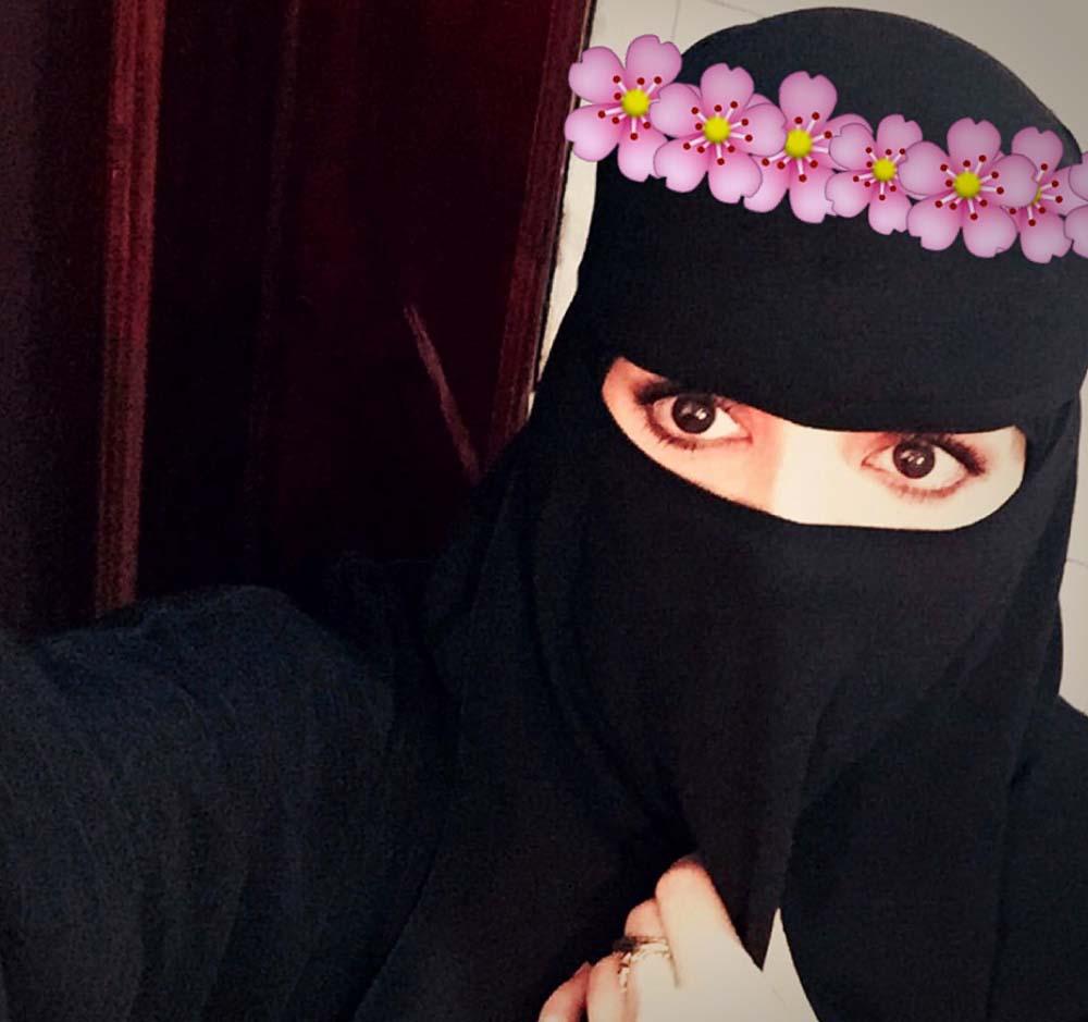 صور بنات منتقبات -نقاب - منقبات - جرافيك مان