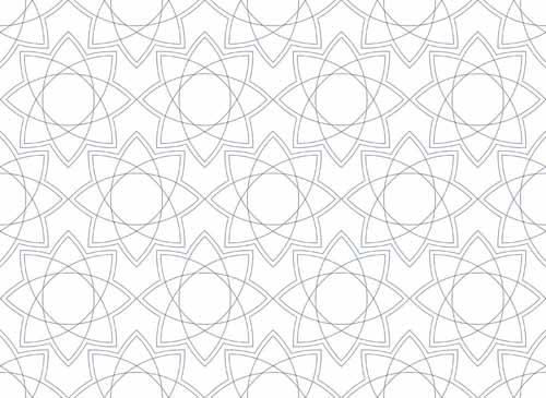 زخارف اسلاميه 14 3 زخارف اسلامية هندسية