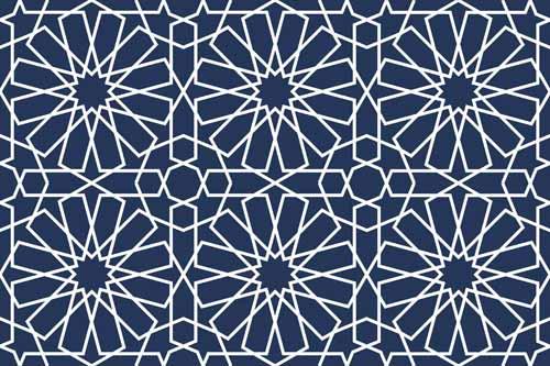 زخارف اسلاميه 9 2 زخارف اسلامية بسيطة