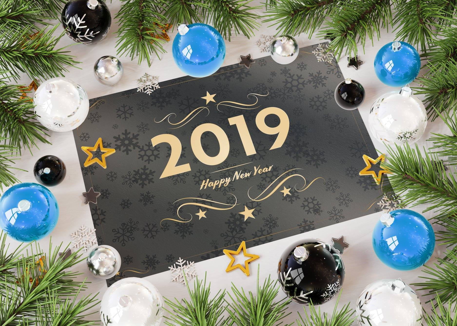 happy new year 2019 1 صور مكتوب عليها العام الجديد 2019