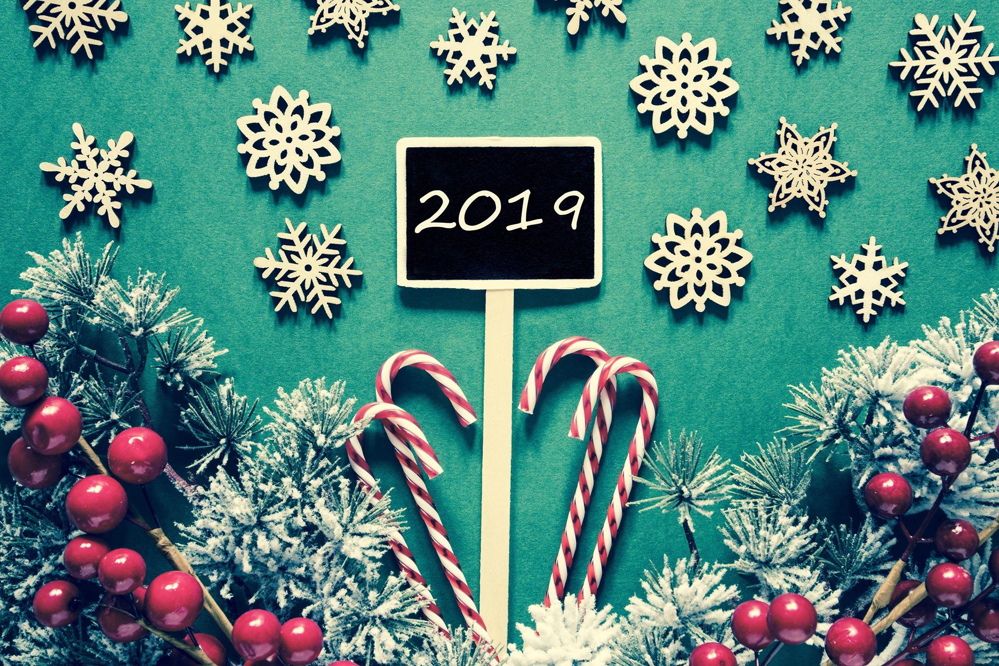 happy new year 2019 2 صور مكتوب عليها العام الجديد 2019