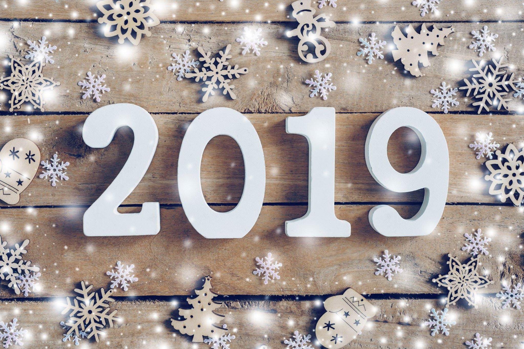 happy new year 2019 4 صور مكتوب عليها العام الجديد 2019