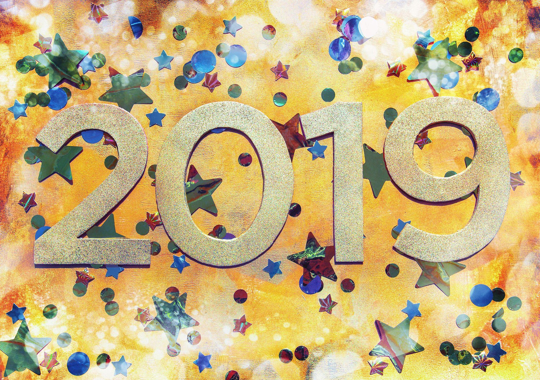 happy new year 2019 5 صور مكتوب عليها العام الجديد 2019