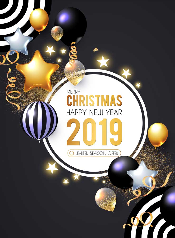 merry christmas 2019 images 10 Happy New Year 2019