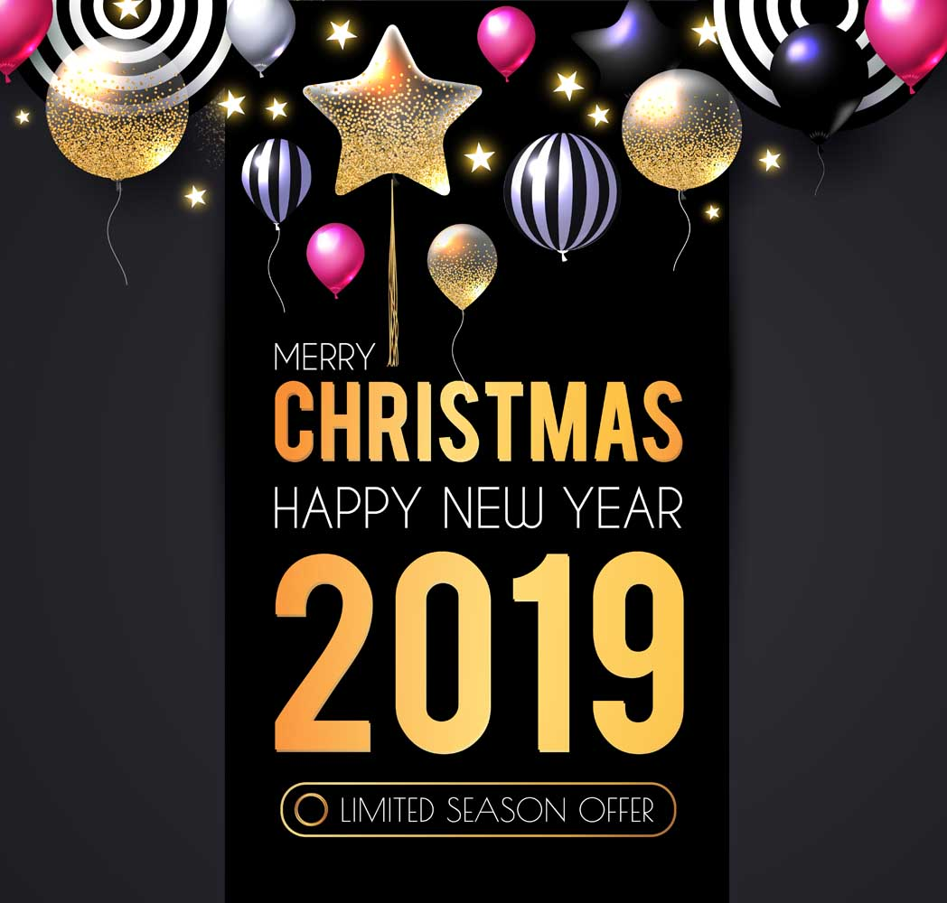 merry christmas 2019 images 11 Happy New Year 2019