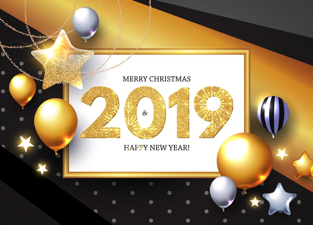 merry christmas 2019 images 17 Happy New Year 2019
