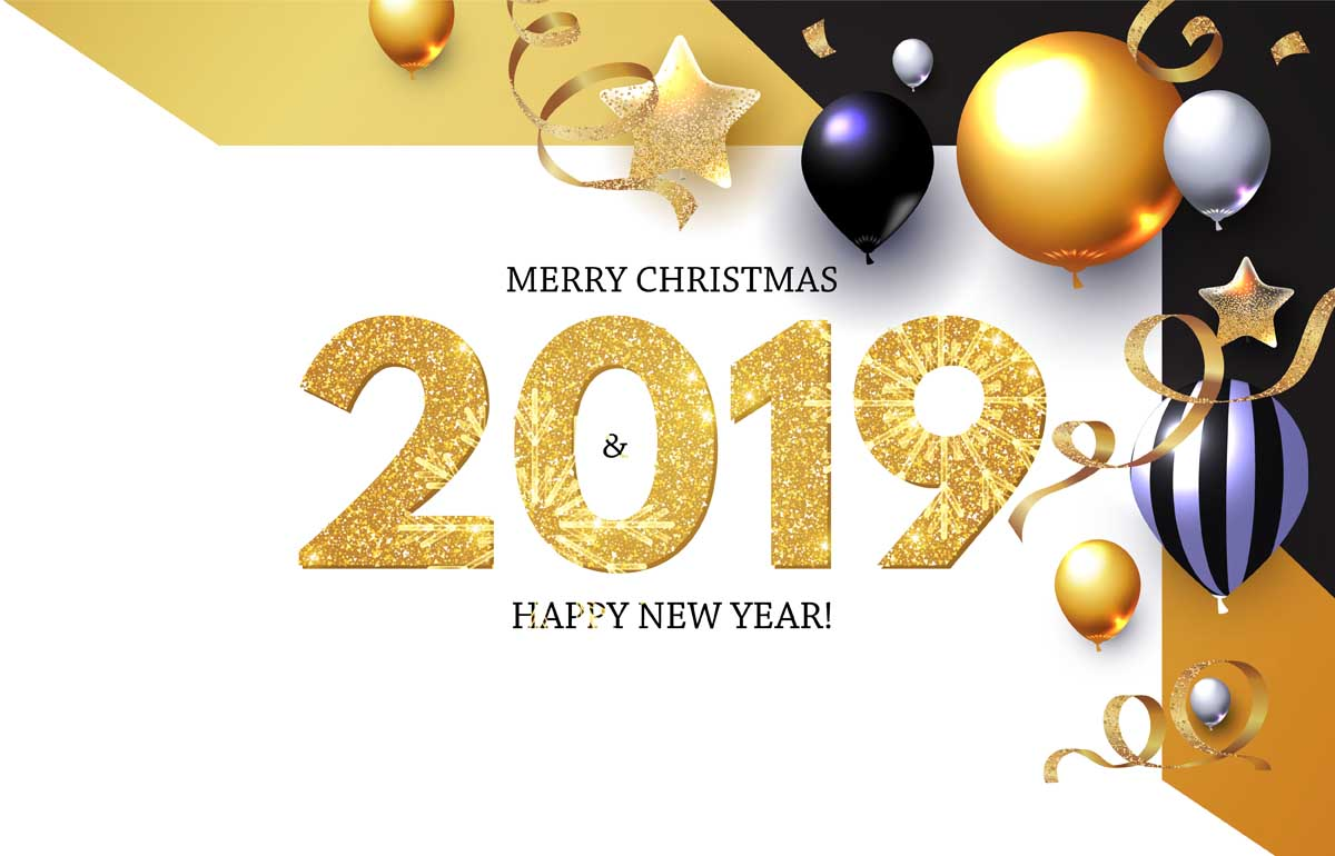 merry christmas 2019 images 7 Happy New Year 2019