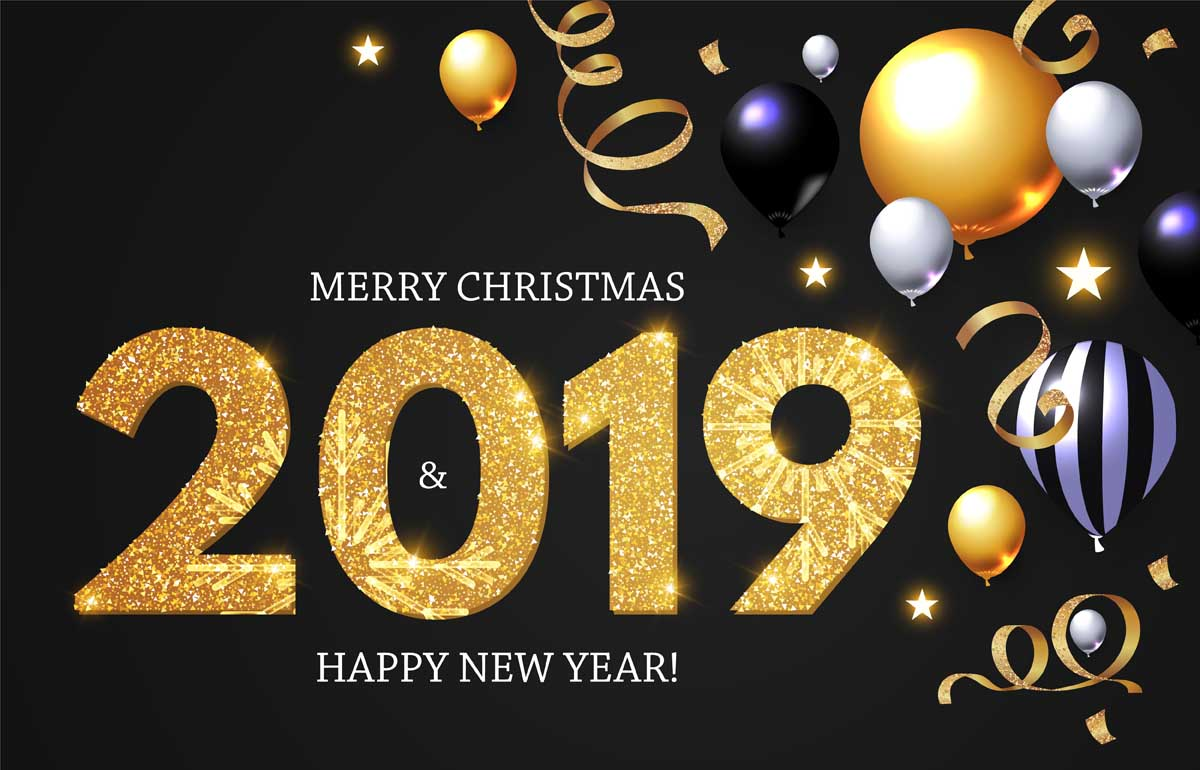 merry christmas 2019 images 8 Happy New Year 2019