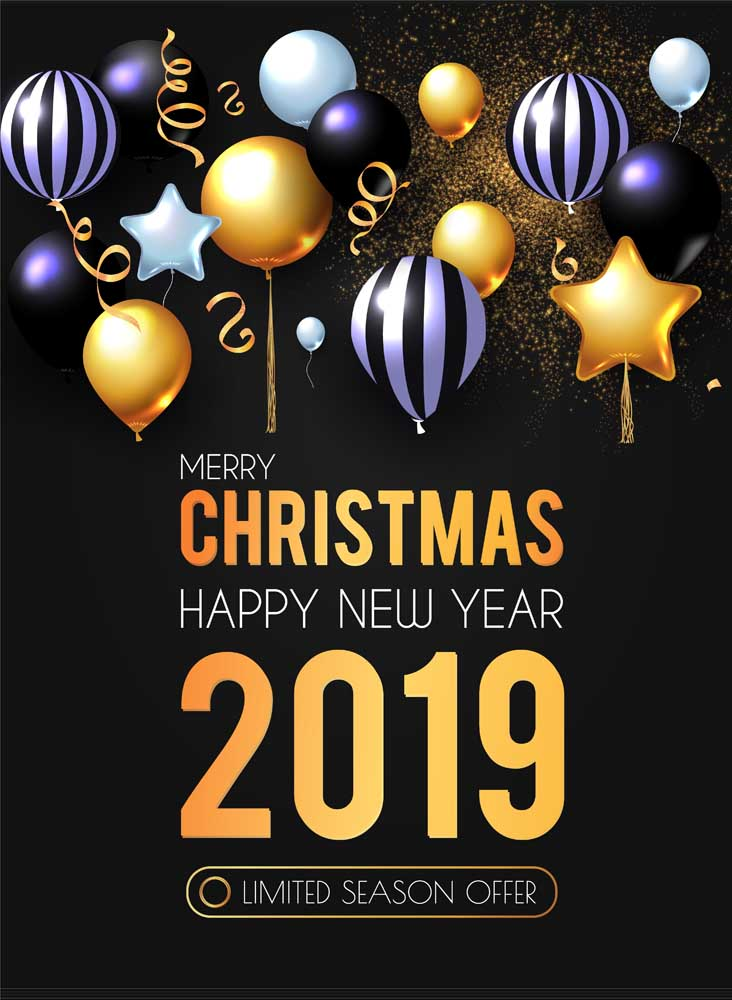 merry christmas 2019 images 9 Happy New Year 2019