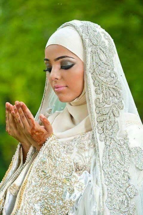 صور منتقبات ومحجبات 1 صور عروسه بالنقاب و الحجاب