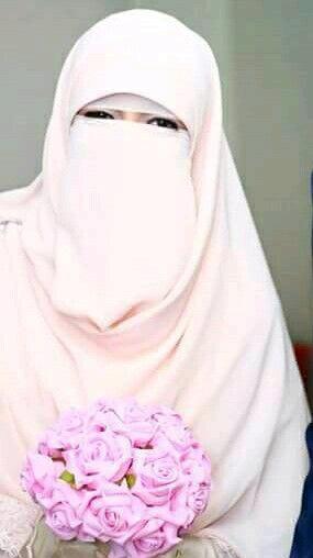 صور منتقبات ومحجبات 10 صور عروسه بالنقاب و الحجاب