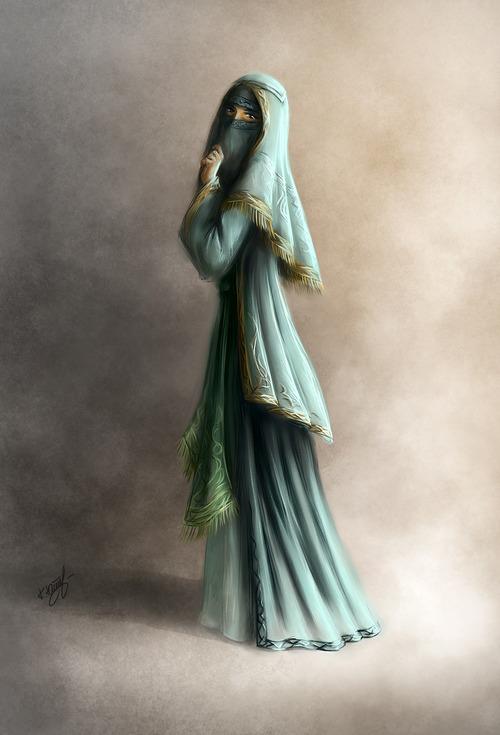 صور منتقبات ومحجبات 11 صور عروسه بالنقاب و الحجاب