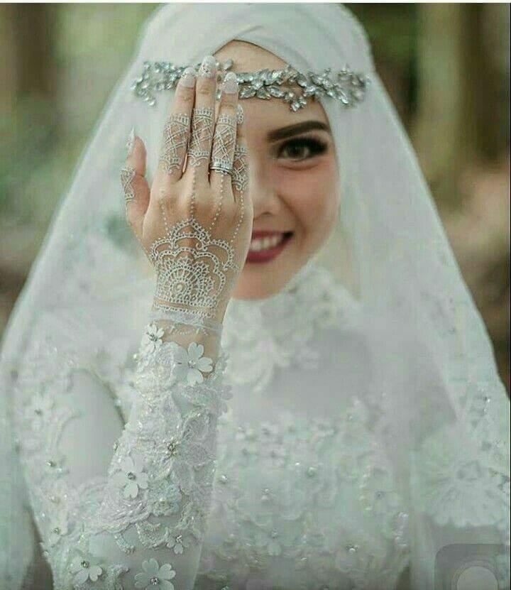 صور منتقبات ومحجبات 13 صور عروسه بالنقاب و الحجاب