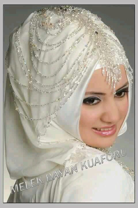 صور منتقبات ومحجبات 14 صور عروسه بالنقاب و الحجاب