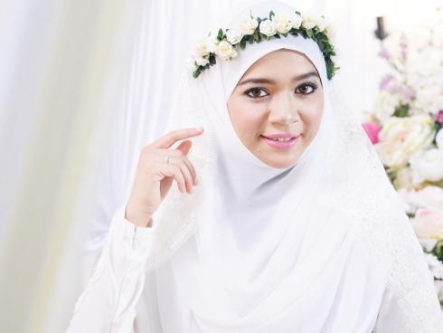 صور منتقبات ومحجبات 15 صور عروسه بالنقاب و الحجاب