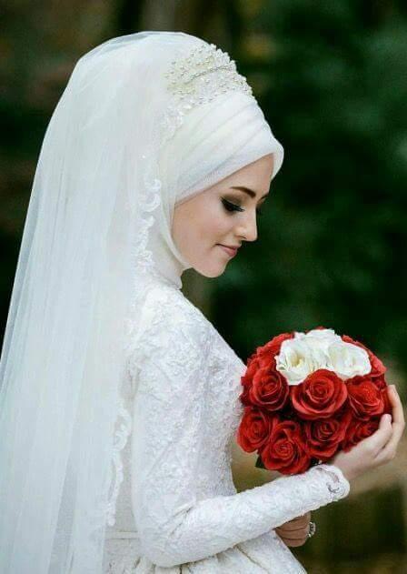 صور منتقبات ومحجبات 17 صور عروسه بالنقاب و الحجاب