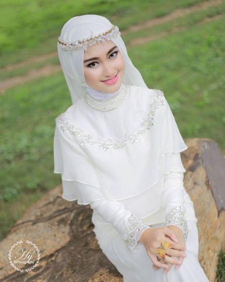 صور منتقبات ومحجبات 2 صور عروسه بالنقاب و الحجاب