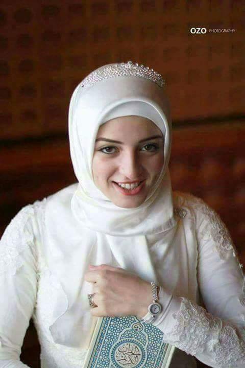 صور منتقبات ومحجبات 21 صور عروسه بالنقاب و الحجاب