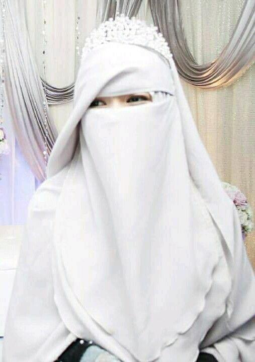 صور منتقبات ومحجبات 22 صور عروسه بالنقاب و الحجاب